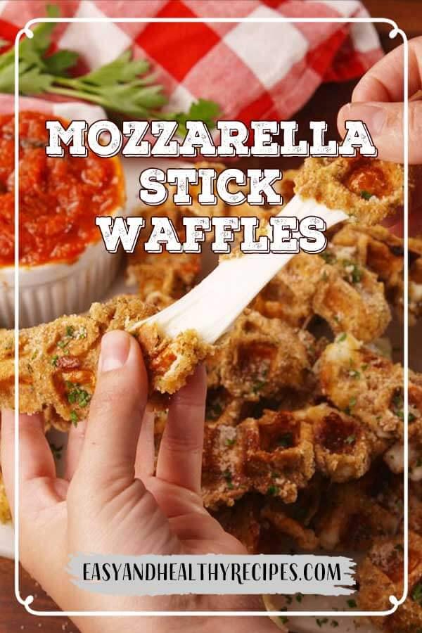 Mozzarella-Stick-Waffles
