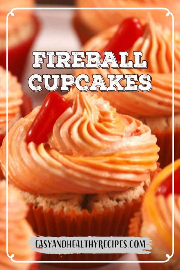 Fireball-Cupcakes