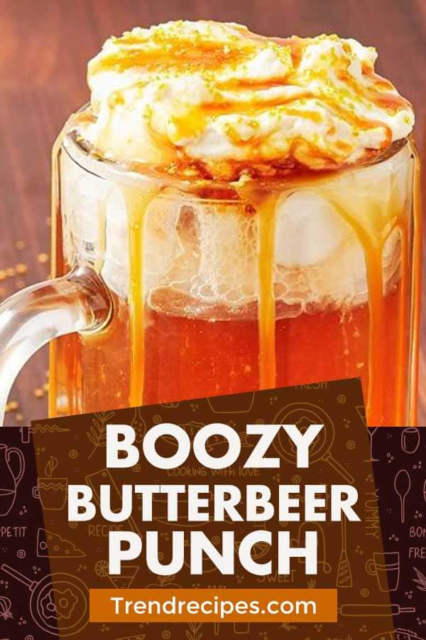 Boozy Butterbeer Punch
